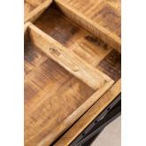 Tavolino con vassoi estraibili  (104x66,5 cm) Lohmi, immagine in miniatura 5