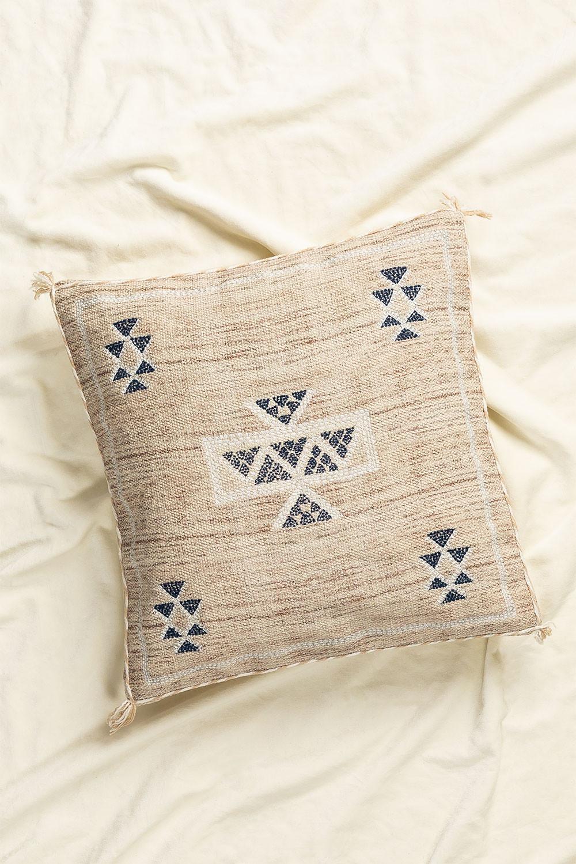 Cuscino quadrato in cotone (50x50 cm) Otok, immagine della galleria 1
