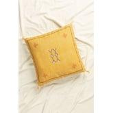 Cuscino quadrato in cotone (50x50 cm) Goki, immagine in miniatura 1