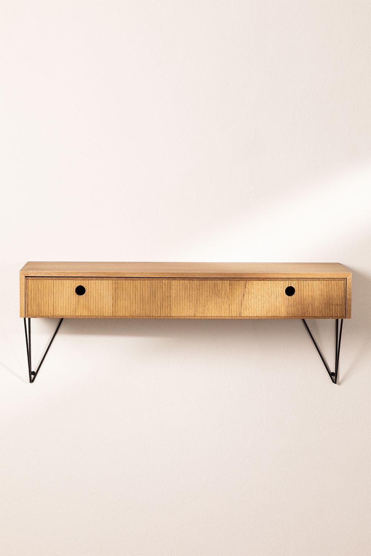 Mobile per Ingresso sospeso in legno 80 cm Glai   SKLUM