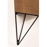 Mobile per Ingresso sospeso in legno 80 cm Glai, immagine in miniatura 5
