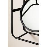 Scaffale in metallo con specchio Niver, immagine in miniatura 4