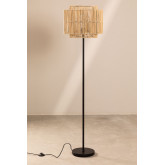 Lámpara de Pie en Bambú Kapua
