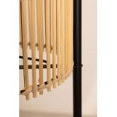 Lampada da terra con ripiani in bambù Loopa, immagine in miniatura 4