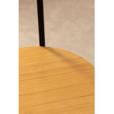 Lampada da terra con ripiani in bambù Loopa, immagine in miniatura 5