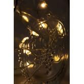 Barattolo con Ghirlanda Solare Led Zol, immagine in miniatura 5