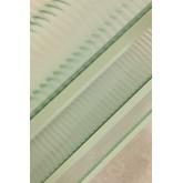 Scaffalatura a 5 ripiani in metallo e vetro Vertal, immagine in miniatura 6