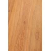 Consolle in legno di teak Menfis, immagine in miniatura 6