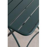 Tavolo da giardino pieghevole in acciaio (60x60 cm) Janti, immagine in miniatura 4