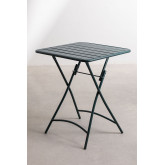 Set tavolo pieghevole Janti (60x60 cm) e 2 sedie da giardino pieghevoli Janti, immagine in miniatura 3