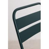 Set tavolo pieghevole Janti (60x60 cm) e 2 sedie da giardino pieghevoli Janti, immagine in miniatura 5