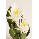 Cactus artificiale con fiori di Cereus, immagine in miniatura 3