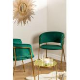 Sedia da pranzo in velluto Nalon , immagine in miniatura 1