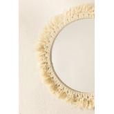 Specchio rotondo da parete in macramè (Ø40 cm) Colin, immagine in miniatura 3