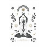 Set di 3 poster decorativi (50x70 e 30x40 cm) Buda, immagine in miniatura 2