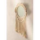 Specchio da parete in Macrame Denot, immagine in miniatura 2