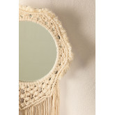 Specchio da parete in Macrame Denot, immagine in miniatura 3