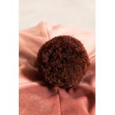 Soffio rotondo in velluto Oinna, immagine in miniatura 3