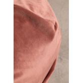 Soffio rotondo in velluto Oinna, immagine in miniatura 4