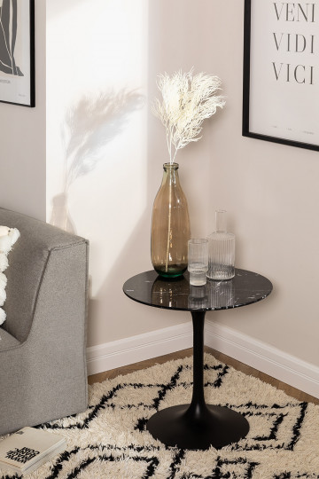 Tavolino rotondo in marmo (Ø50 cm) Tuhl