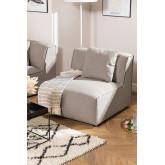 Poltrona Centro per divano componibile in Tessuto Aremy, immagine in miniatura 1