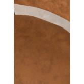 Sgabello alto in similpelle con schienale Abix , immagine in miniatura 5