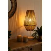 Lampada da tavolo in corda di nylon Uillo , immagine in miniatura 2
