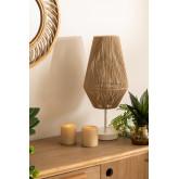 Lampada da tavolo in corda di nylon Uillo , immagine in miniatura 1