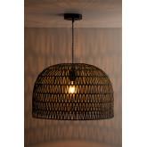 Lampada da soffitto in carta intrecciata Mylo, immagine in miniatura 2