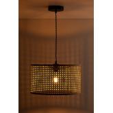 Lampada da Soffitto in Rattan Serri, immagine in miniatura 3