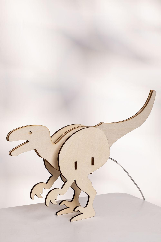 Lampada da tavolo Dino Kids, immagine della galleria 1