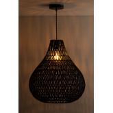 Lampada da soffitto in carta intrecciata Nok, immagine in miniatura 3