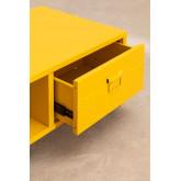 Tavolino con cassetto in Metallo Pohpli , immagine in miniatura 4