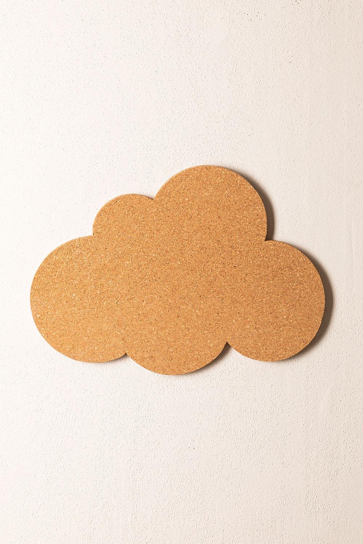 Nuvoletta da parete in sughero Cork, immagine della galleria 1