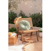 Sedia da Giardino in Vimini Sintetico Miri, immagine in miniatura 1