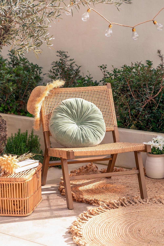 Sedia da Giardino in Vimini Sintetico Miri, immagine della galleria 1