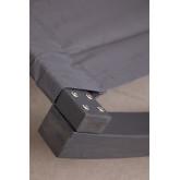 Lettino prendisole da esterno a dondolo senza tendalino Kari, immagine in miniatura 4
