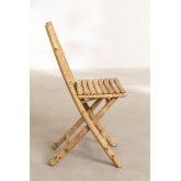Sedia pieghevole in bambù Marilin, immagine in miniatura 3