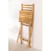 Sedia pieghevole in bambù Marilin, immagine in miniatura 5