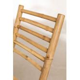 Sedia pieghevole in bambù Marilin, immagine in miniatura 6