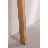 Testiera per Letto 150 cm in legno e Pelle Zaid, immagine in miniatura 5