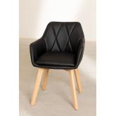 Confezione da 2 sedie da pranzo imbottite Marh Style , immagine in miniatura 4