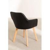 Confezione da 2 sedie da pranzo imbottite Marh Style , immagine in miniatura 5