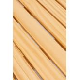 Tavolino quadrato pieghevole in legno Bhêl , immagine in miniatura 5