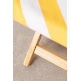 Set sdraio e sgabello pieghevole in legno Lyon, immagine in miniatura 6