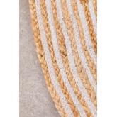 Tappeto rotondo in iuta naturale (Ø120) Crok, immagine in miniatura 3