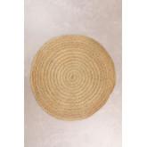Tappeto rotondo in sparto (Ø200 cm) Pow, immagine in miniatura 1