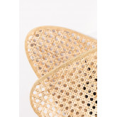 Ruly Rattan Wall Sconce, immagine in miniatura 4