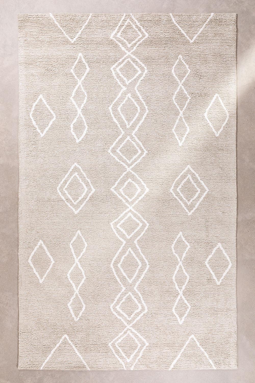 Tappeto in cotone (300x185 cm) Kirvi, immagine della galleria 1