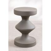 Tavolino rotondo in metallo (Ø31 cm) Zhou , immagine in miniatura 2